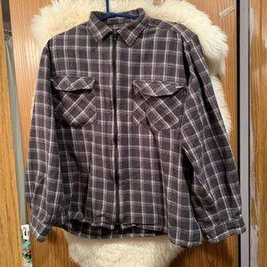 Men's Lightweight Flannel Jacket